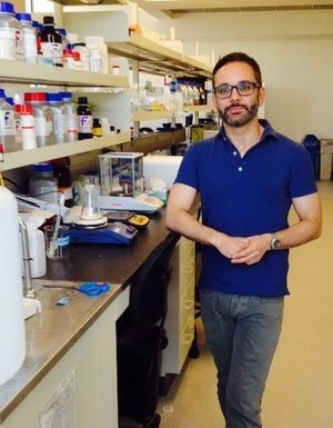 Emanuel Rosonina, recipient of a 2014 Banting Research Foundation Discovery Award