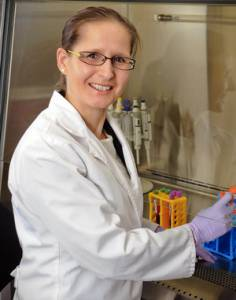 Petra Kienesberger, recipient of a 2015 Banting Research Foundation Discovery Award