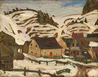 Quebec village 1931